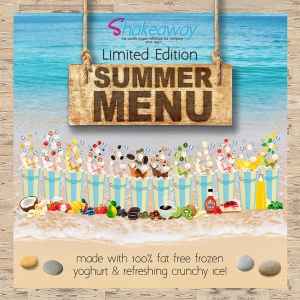 Shakeaway's amazing new limited-edition Summer menu