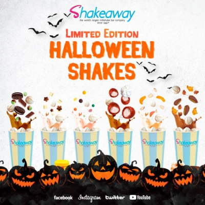 Shakeaway's New Limited Edition Halloween Menu