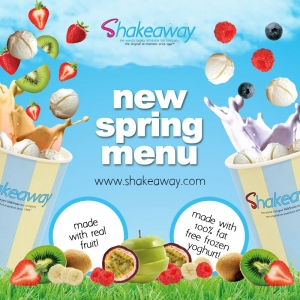 Shakeaway's famous limited-edition Spring shakes menu has arrived!