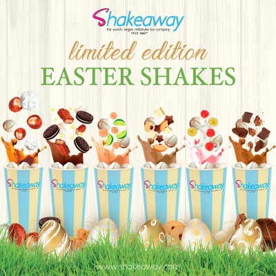 Shakeaway's new limited-edition Easter Menu