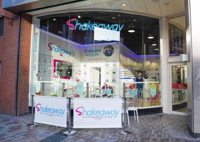Shakeaway is now open in Belfast, Northern Ireland